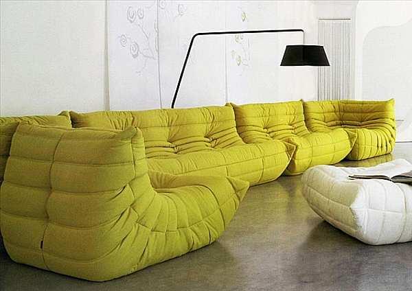 Couch LIGNE ROSET Togo Imbottiti