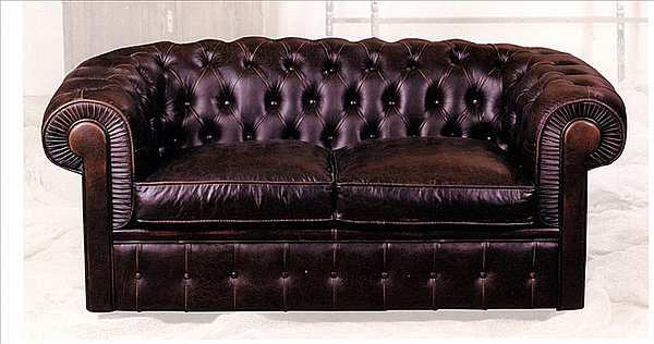 Couch MANTELLASSI Chesterfield Luxury Vintage Collection