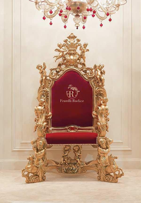 FRATELLI RADICE Chair Model 011 Product throne