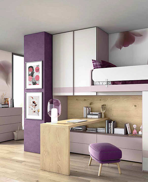 """Bedroom GRANZOTTO Composizione """"DOMINO"""""""
