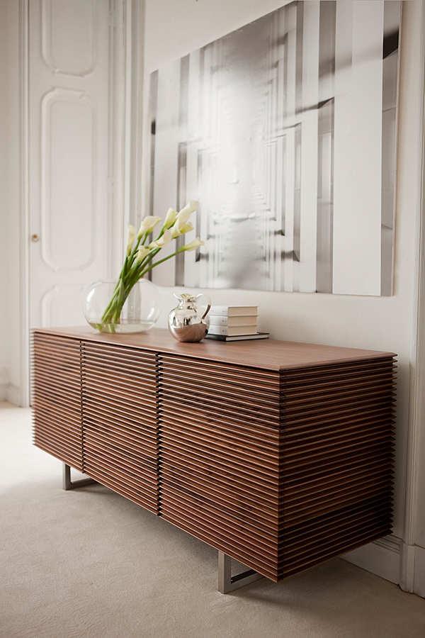 Chest of drawers PORADA Riga credenza 4 ante (base in metallo)