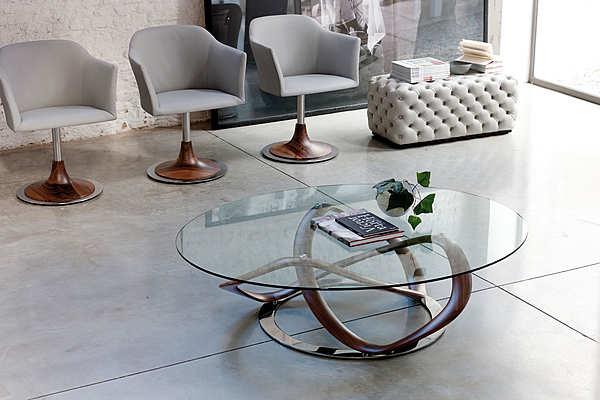 Coffee table PORADA Infinity tavolino tondo