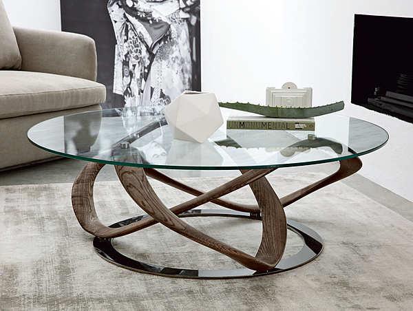 Coffee table PORADA Infinity tavolino tondo LOGOS