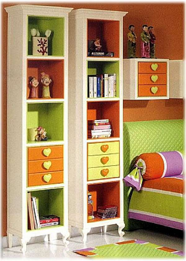 Bookcase HALLEY 514 Absolute Forever