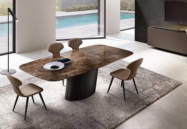 Table Eforma DO41M DORADO