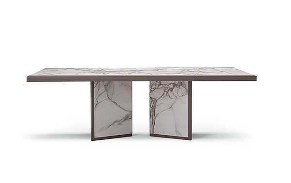 Table COSTANTINI PIETRO 9381T JET SET Dining Table Catalogo cop. argento