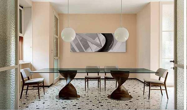 Table PORADA Elika rettangolare LOGOS
